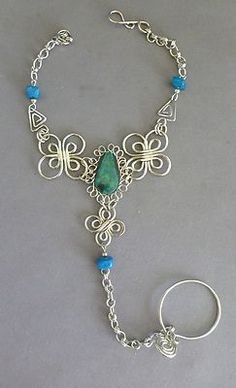 Mom: Love the wire work in this. This is my favorite of the group. Seems fun to make. Would you wear something like this?