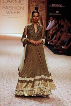 Ritu Kumar's Collection @ Lakme Fashion Week, Winter-Festive 2013; eStore http://www.ritukumar.com/ritukumar/