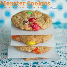Monster Cookies from ItsYummi.com