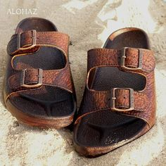 36cded41c Brown buckle jandals® - pali hawaii sandals