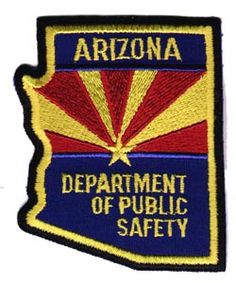 arizona state police patch