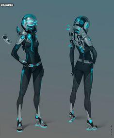 Booster Jet space/combat suit!!