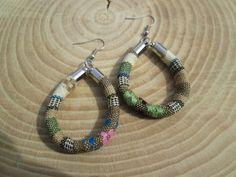 Aztec earrings, I'm in love!