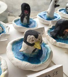 Thomas Elementary Art: First Grade Clay Penguins
