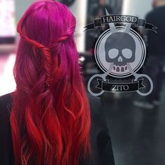 Here, we love hair! If you are a beauty artist send us a message for a free feature! Bright Hair, Pastel Hair, Colorful Hair, Love Hair, Gorgeous Hair, Grunge, Bob, Cool Hair Color, Up Dos