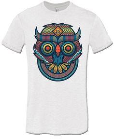 T-shirt Tribal Owl