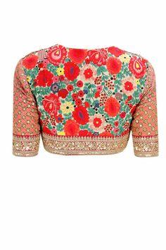 Latest Saree Blouse Designs – 17 New Blouse Designs 2018 Latest Saree Blouse, Latest Sarees, Lehenga Blouse, New Blouse Designs, Saree Blouse Designs, Blouse Patterns, Indian Blouse, Indian Sarees, Saris