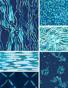 "Catherine Wilson on Pattern Observer From The Textile Design Lab: Chelsea's Challenge – ""Tidal Beachcomber"" Collections"