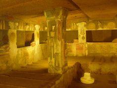 La Necrópolis de #Banditaccia es la más famosa y la más grande de #Cerveteri. Destaca la Tomba dei Relievi. http://www.viajararoma.com/ciudades-para-visitar-cercanas-a-roma/cerveteri/ #turismo #viajar #Italia