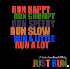 time to get running....