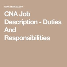 CNA Job Interview Questions and Answers | Certified nurse, Nursing ...