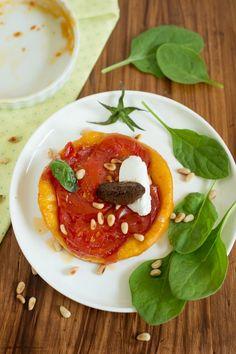 Herzhafte Tarte Tatin mit Tomaten | Rezept | Französisch kochen