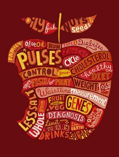 I love this style of lettering /  illustration / info graphic. WORD!