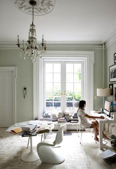 chelsea townhouse home office | photo jason busch