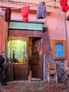 jewelry Shop in a nice lovely street in Marakech