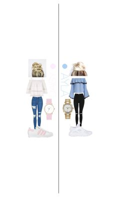 """""""Untitled #68"""" by daisyhuijer on Polyvore featuring Topshop, NIKE, adidas, Rolex and Laruze"""