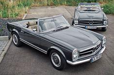 Mechatronik Mercedes-Benz W 113 #mercedesclassiccars
