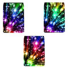 """Rainbow Stars"" Removable Flap for Chameleon Shoulder Bag (Regular) Camera Shutter, Rainbow Star, Chameleon, Shoulder Bag, Stars, Chameleons, Star"