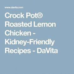 Cranberry and Roasted Garlic Risotto - Kidney-Friendly Recipes - DaVita Davita Recipes, Kidney Recipes, Diet Recipes, Recipies, Dialysis Diet, Renal Diet, High Protein Chicken Salad, Low Potassium Recipes, Lemon Roasted Chicken