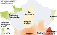 L'été aura été assez contrasté pour le tourisme en France, confronté aux caprices de la météo et aux réflexes attentistes et économes des clients...