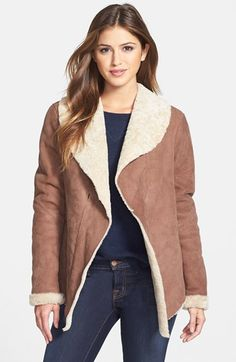 a shearling coat from ugg? DROOL.