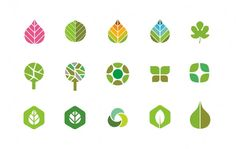 Edeniq identity sub icons Compost, Classy Logos, Agriculture Logo, Identity Design, Brand Identity, Leaf Images, Design Theory, Information Graphics, Design Graphique