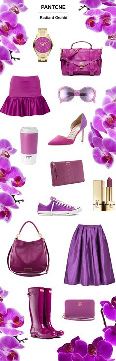 Radiant Orchid, Pantone 2014 Color of the Year | Crazy Style Love