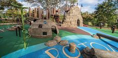 Palisades Recreation Center - Native American-Themed Playground