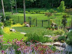 10 Resourceful Tricks: Backyard Garden Tips backyard garden oasis paradise.Backyard Garden On A Budget tropical backyard garden landscaping ideas. Large Backyard Landscaping, Modern Backyard, Ponds Backyard, Landscaping Tips, Backyard Ideas, Garden Ideas, Patio Ideas, Arizona Landscaping, Tropical Backyard