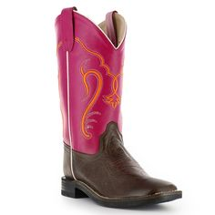 Cody James® Youth Broad Square Toe Western Boots