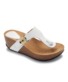 2905a79946bf Scholl Off-White Edna Platform Sandal
