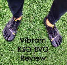 Review of the Vibram FiveFingers KSO EVO for Running