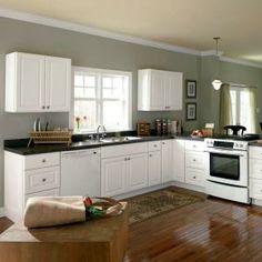 hampton bay hampton assembled 18x345x24 in base kitchen cabinet with ballbearing drawer glides in satin white