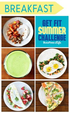 5 Healthy Breakfasts To Eat For BuzzFeed's Get Fit Challenge