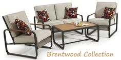 The Brentwood Collection is sure to enhance your #patio or #deck this #summer.