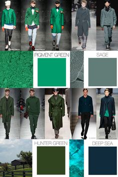 WeConnectFashion Trends| MENSWEAR SEASONAL COLOR F/W 2015-16. TREND COUNCIL, International Trend Forecasting Report For Fashion Business