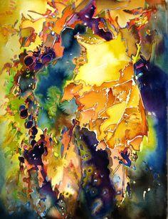 2008 Garden | Carol Carter Watercolors and Acrylics