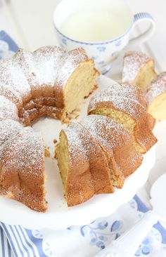 Bunt Cakes, Fondant Cakes, Cupcake Cakes, My Recipes, Sweet Recipes, Bread Machine Recipes, Almond Cakes, Chicken Salad Recipes, Homemade Cakes