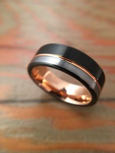 Wedding Rings For Women, Wedding Men, Rings For Men, Black Tungsten Rings, Tungsten Wedding Rings, Free Ring, Try On, Jewelry Stores, Gold Rings