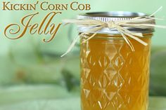 Kickin' Corn Cob Jelly makes a unique holiday or hostess gift.