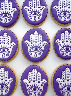 .Oh Sugar Events: Cookie Quickie: Hand of Fatima