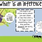 Quick Printable poster on what an infernece is - something students seem to have a hard time comprehending in my experience. ENJOY! ...