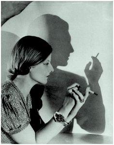 Fashion shot Schiaprelli jewelry 1934-5 by Cecil Beaton