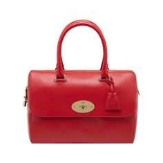 Mulberry Gift Kaleidoscope | Red - Del Rey in Bright Red Shiny Goat