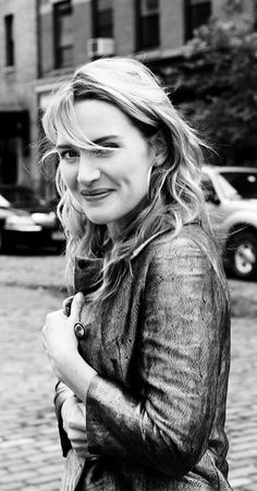 kate winslet. she's an absolutely fabulous woman, I adore her.