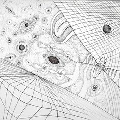 Drawing for a physicist: Anniversary of General relativity theory Relativity Theory, Pen Drawings, Physicist, Anniversary, Black And White, Paper, Instagram Posts, Black White, Blanco Y Negro