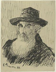 Self portrait, Camille Pisarro 1830-1903