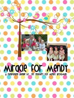 PLEASE HELP! This bundle was created as a fundraising project to help Mendy Brockman and her family. Mendy is a young mother in her 30's with four small children ages 6, 4, 3, and 19 months. Mendy & her husband were in a car accident. Mendy was left paralyzed. Her family faces tremendous financial difficulties. Please consider purchasing this bundle to help this family. ALL of the funds raised from this bundle will go to her family. $