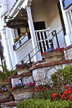 Il Fornaio Restaurant Carmel By The Sea Located Behind Pine Inn