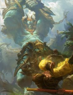 """theamazingdigitalart: """" Journey to the West by Fenghua Zhong """""""